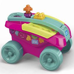 Mega Bloks - Mon wagon trieur de formes rose