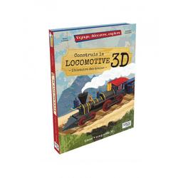 La locomotive 3D - Voyage, découvre, explore