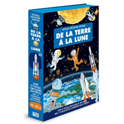De la terra à la lune - Voyage, découvre, explore