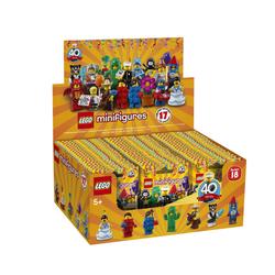 71021 - LEGO® Box Mini figurines série 18