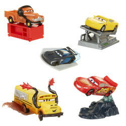 Cars-Set de 5 Figurines de collection