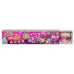 Shopkins Wild Style - Mega Pack 20 figurines et tatouages
