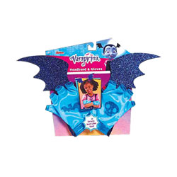 Vampirina-Serre tête chauve souris avec gants