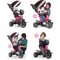 Tricycle évolutif Body Sport rose