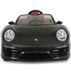 Voiture électrique Porsche 911 Turbo S 12V iMove noire