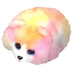Teeny Tys - Petite Peluche Chien multicolore 8 cm