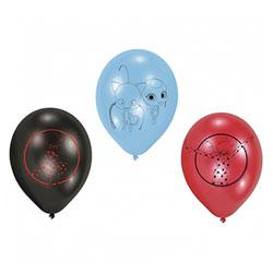 6 ballons Lady Bud