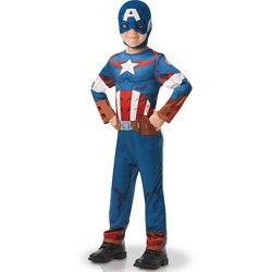 Déguisement Captain America 5/6 ans
