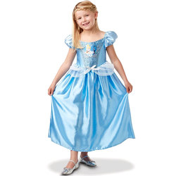 Déguisement Cendrillon robe sequins 5/6 ans - Disney Princesses