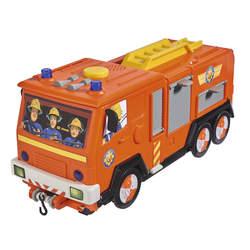 Sam le pompier - playset camion jupiter 2 en 1 electronique - 1 figurine sam + quad