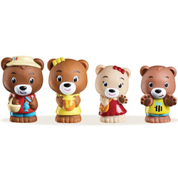 Klorofil Lot de 4 figurines - Famille Browny