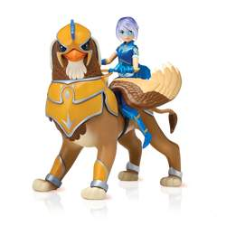 Mysticons - Figurines articulées - Zarya et Archer 18 cm