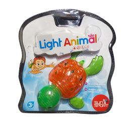 Animal de bain lumineux