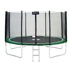 Trampoline 360 avec filet et échelle