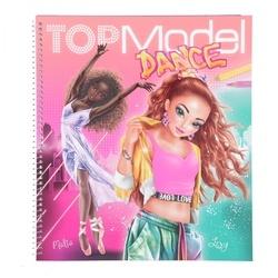 Top Model Dance album à colorier