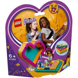 41354 - LEGO® Friends La boîte cœur d'Andréa