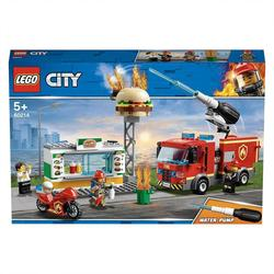 60214 - LEGO® City L'intervention des pompiers au restaurant de hamburgers