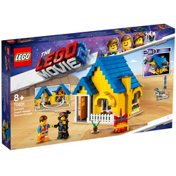 70831 - LEGO® MOVIE 2 La maison-fusée d'Emmet