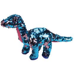 Flippables-Peluche Tremor le dinosaure Space X 15 cm