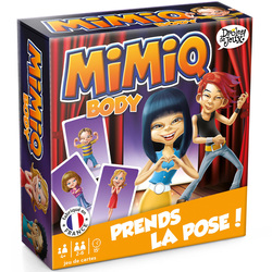 Jeu de cartes Mimiq Body