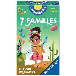 Jeu de 7 familles le tour du monde les Incollables