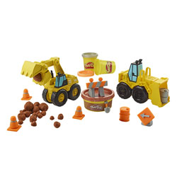 Play-Doh-Pelleteuse et Bulldozer