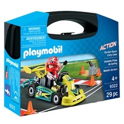 9322 - Valisette pilote de karting Playmobil Action