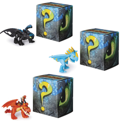 Dragons 3-Pack de 2 figurines Mystères