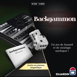 Série Noire Backgammon