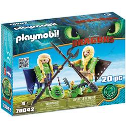 70042 - Playmobil Dragons 3 - Kranedur et Kognedur