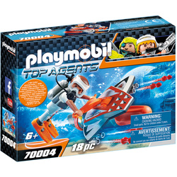 70004 - Playmobil Top Agents - Propulseur sous-marin