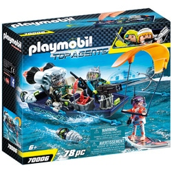 70006 - Playmobil Top Agents - Bateau harpon S.H.A.R.K Team