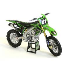 Moto Kawasaki Racing 1/12 ème