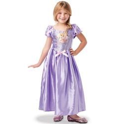 Déguisement classique sequins Raiponce 5/6 ans - Disney Princesses