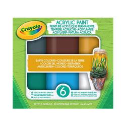 Peinture acrylique permanente couleurs de la terre