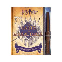 Livre Harry Potter - La carte du maraudeur