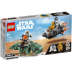 75228-LEGO® Star Wars Capsule de sauvetage contre Microfighter Dewback