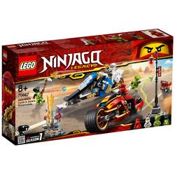 70667 - LEGO® NINJAGO Legacy La moto de Kai et le scooter des neiges de Zane