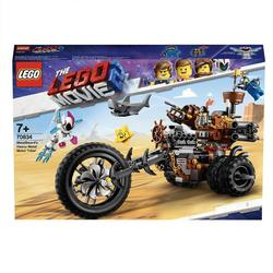70834 - LEGO® MOVIE 2 Le tricycle motorisé en métal de Barbe d'Acier