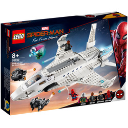 76130-LEGO® Marvel Spider-Man Far From Home-L'attaque de Spider Man avec le jet de Stark