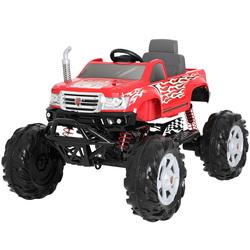 Monster Truck électrique 24V rouge