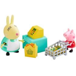 Peppa Pig-Coffret figurines et accessoires