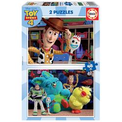 Disney Toy Story 4 - 2 Puzzles 48 pièces