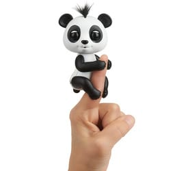 Fingerlings panda noir et blanc