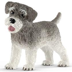 Figurine de chien Schnauzer nain