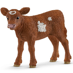 Figurine de veau Texas Longhorn