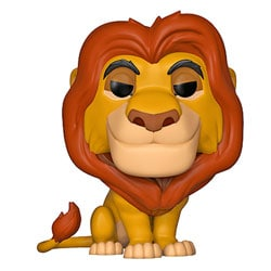 Figurine Mufasa 495 Roi Lion Disney Funko Pop
