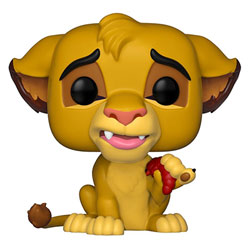 Figurine Simba 496 Riu Lion Disney Funko Pop