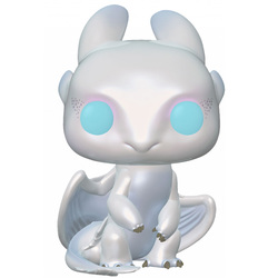 Figurine Light Fury 687 Dragon 3 Funko Pop