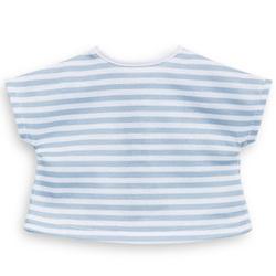 T-Shirt rayé bleu pour poupée Ma Corolle de 36 cm
